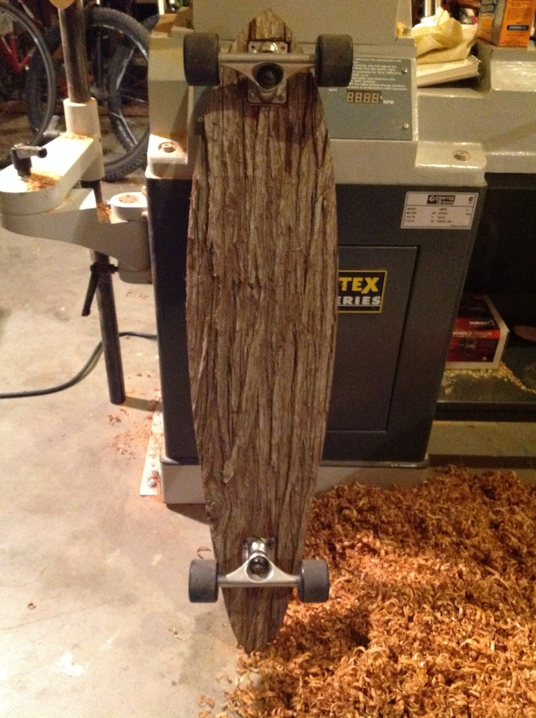 Mike's crazy cedar and maple pintail creation
