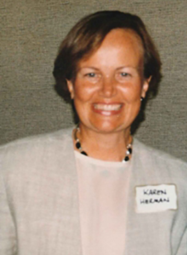Karen Herman,First President of theWomen's Foundation, 1992