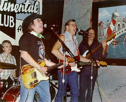 Doug Sahm onstage