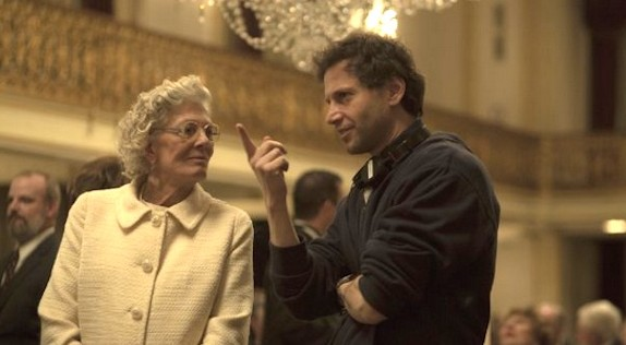 Director Bennett Miller (Capote, Moneyball) speaks with the film great Vanessa Redgrave.