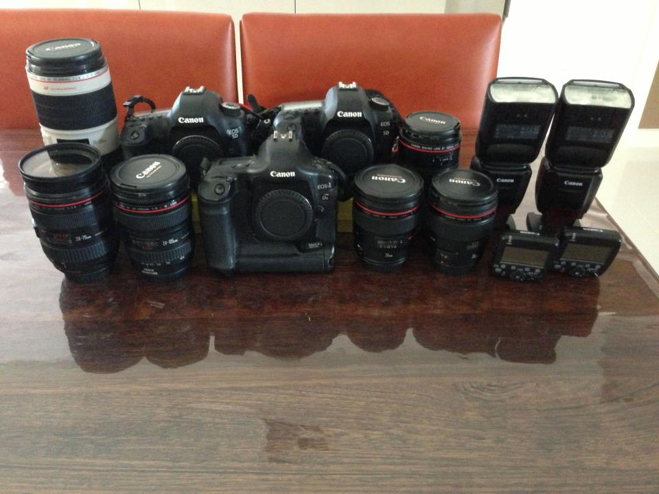 Wedding photo lens