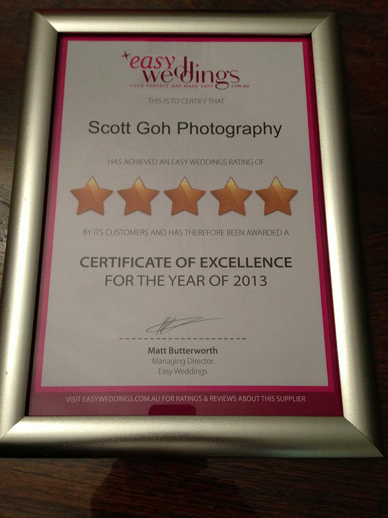 photo excellence award