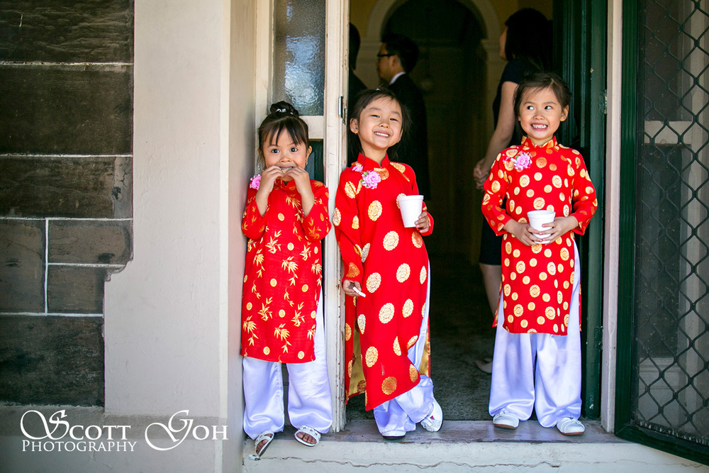 kids Asian in Wedding Photographer