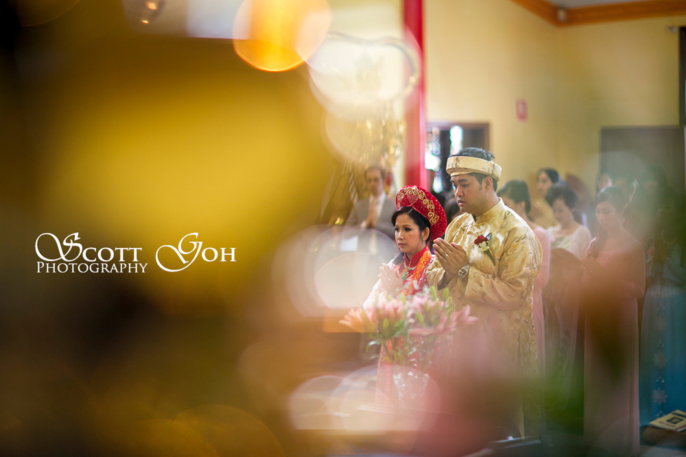 wedding bokeh