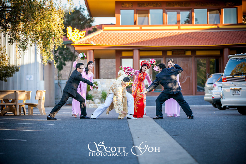 stunning adelaide wedding portrait