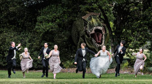 Interesting Wedding Portrait