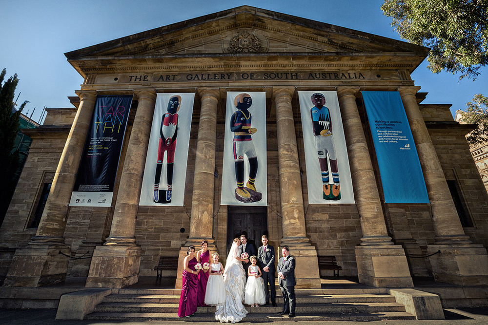 north terrace adelaide wedding