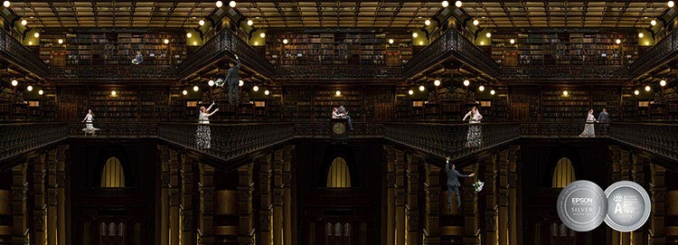 mortlock wing SA library state wedding awards art