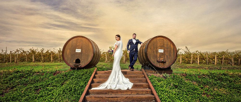 Winery Howard Vineyard wedding
