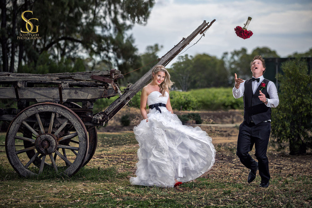 best country hills wedding