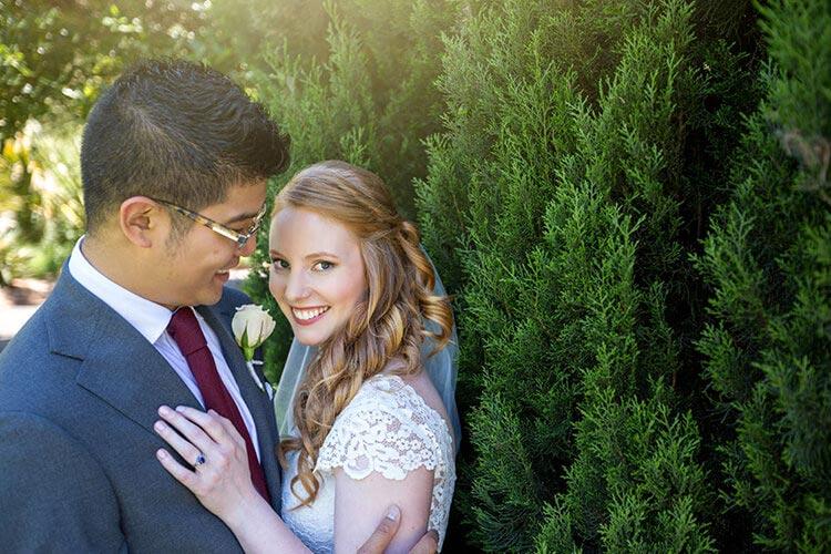 best Adelaide wedding photography Botanic Gardens wedding