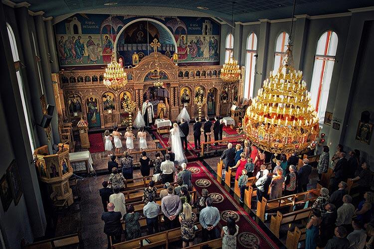 greek church wedding Adelaide photo