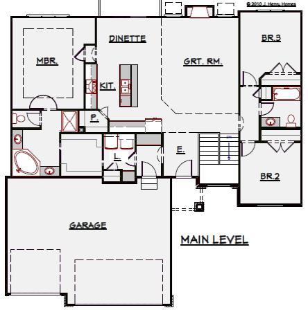 1640 Floor Plan