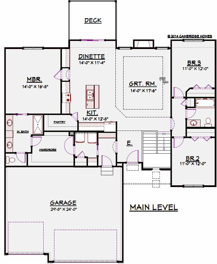 1762 Floor Plan
