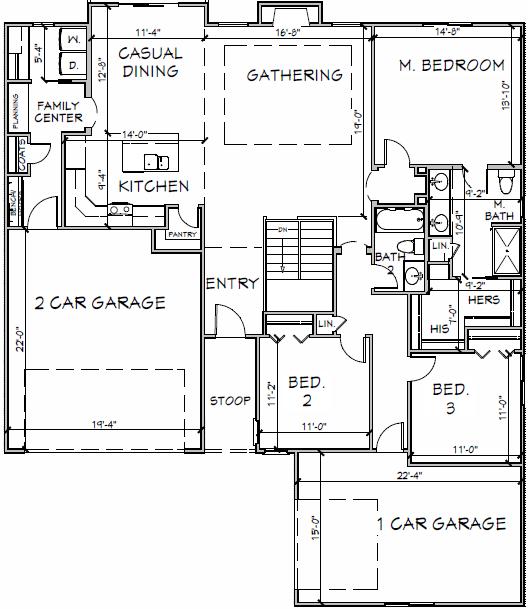 1763 Floor Plan