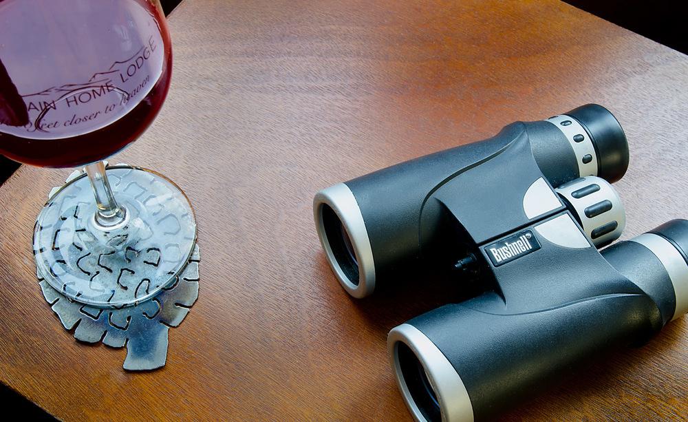 Binoculars in your room