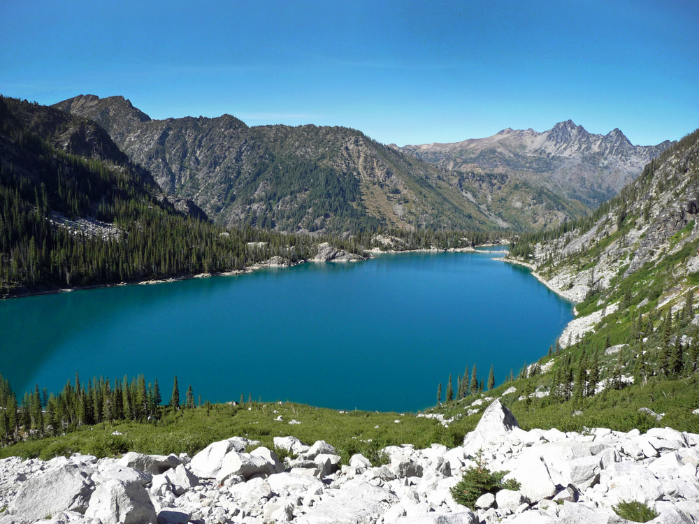 Colchuck Lake...An Alpine Gem