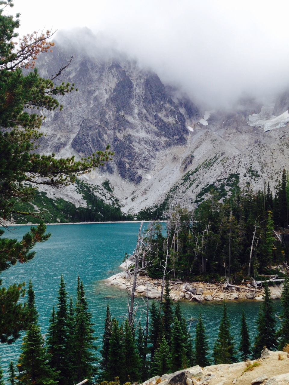 Colchuck Lake,  September 1, 2015