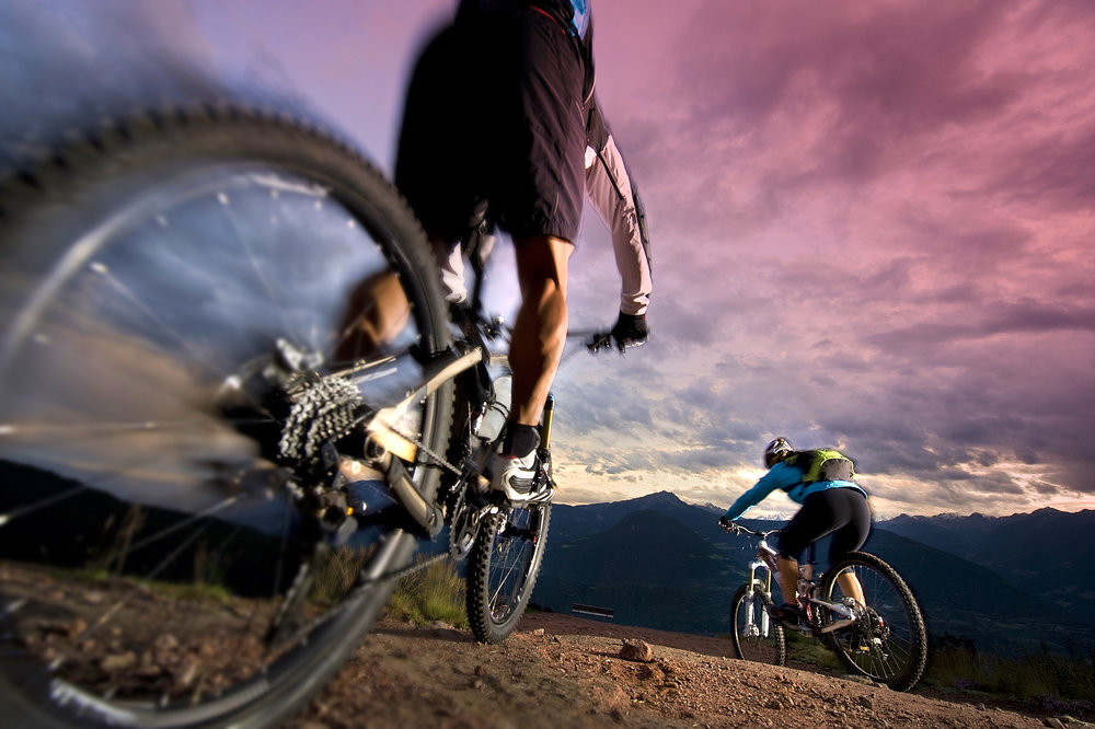 Mountain Biking - See Images, Video & Trail Maps Below