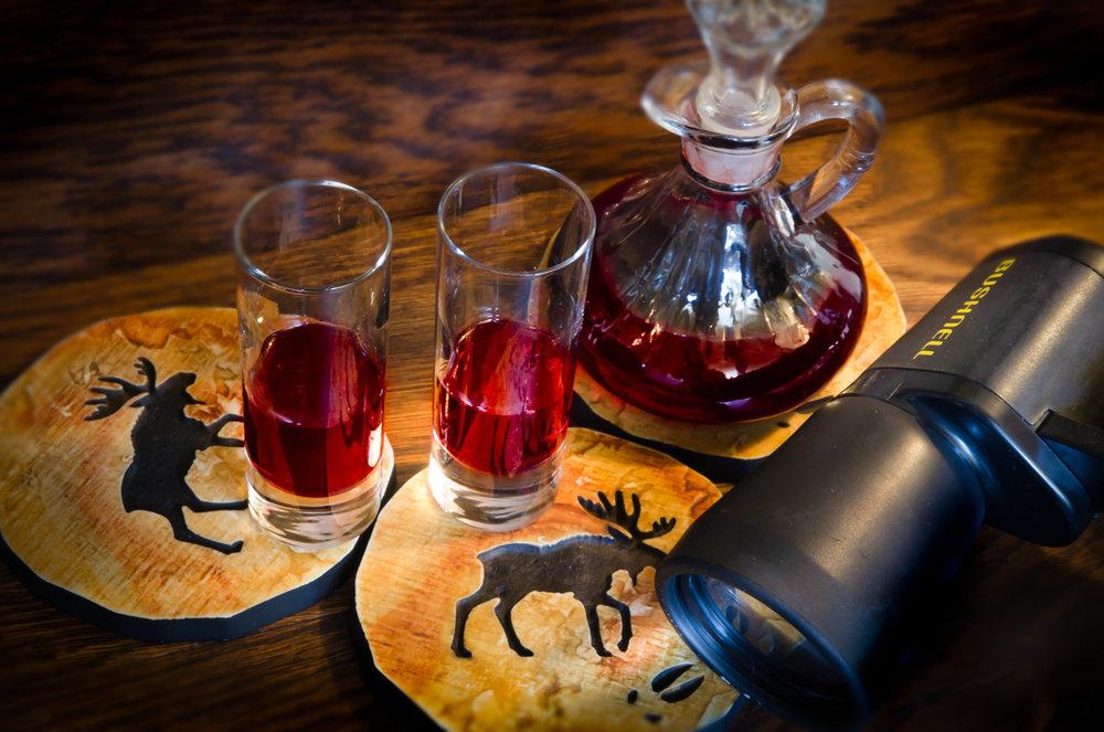 Complimentary Port Wine & Binoculars