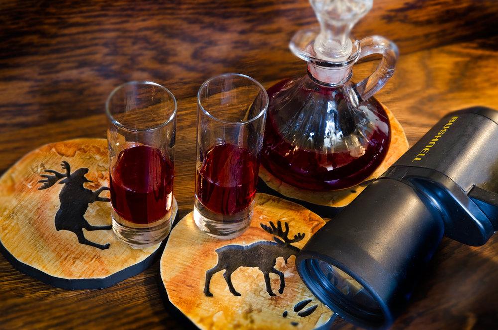 Port Wine & Binoculars