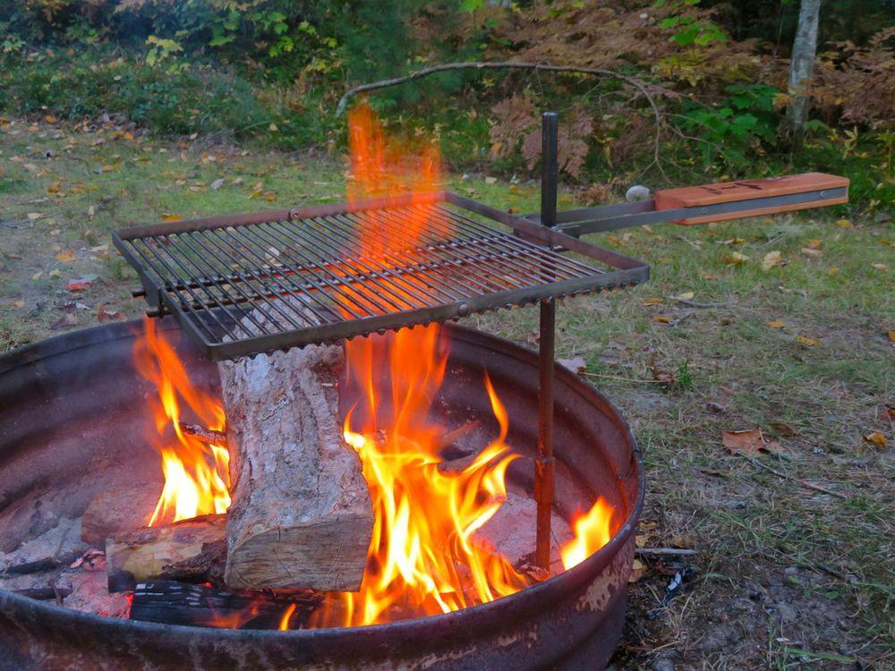 Mega Yooper Campfire Grill