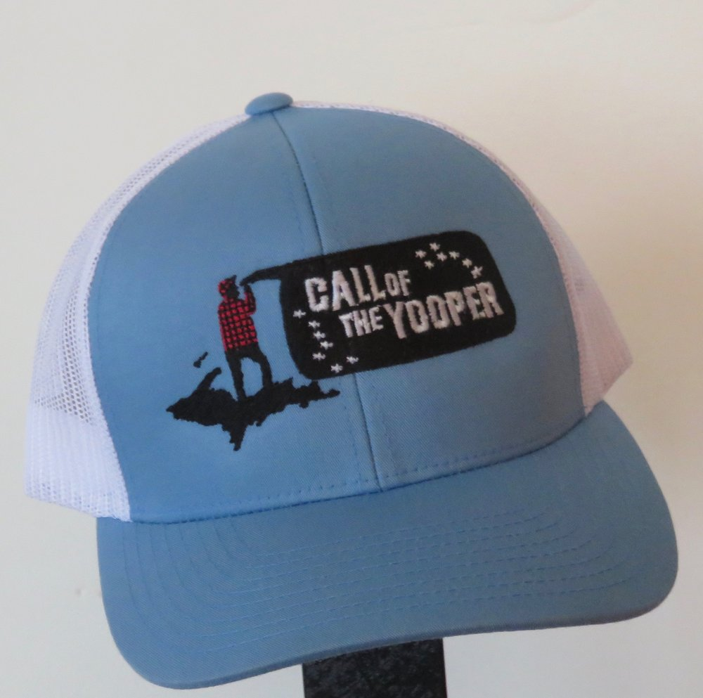 64c460777e54d Trucker Hat High Quality Stitched in the UP — Call of the Yooper