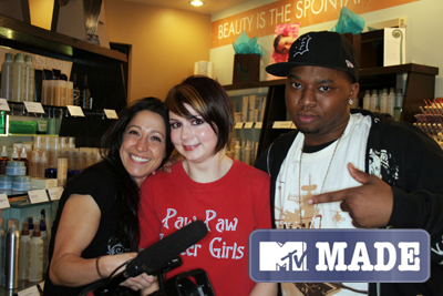 MTV MADE at Eve Salonspa