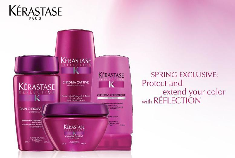 Kerastase eve salonspa for Kerastase bain miroir shine revealing shampoo