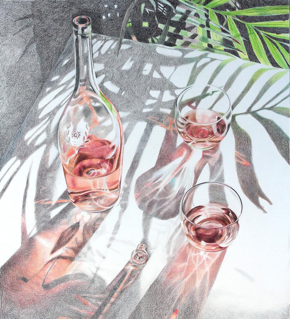 Rosé Reflections