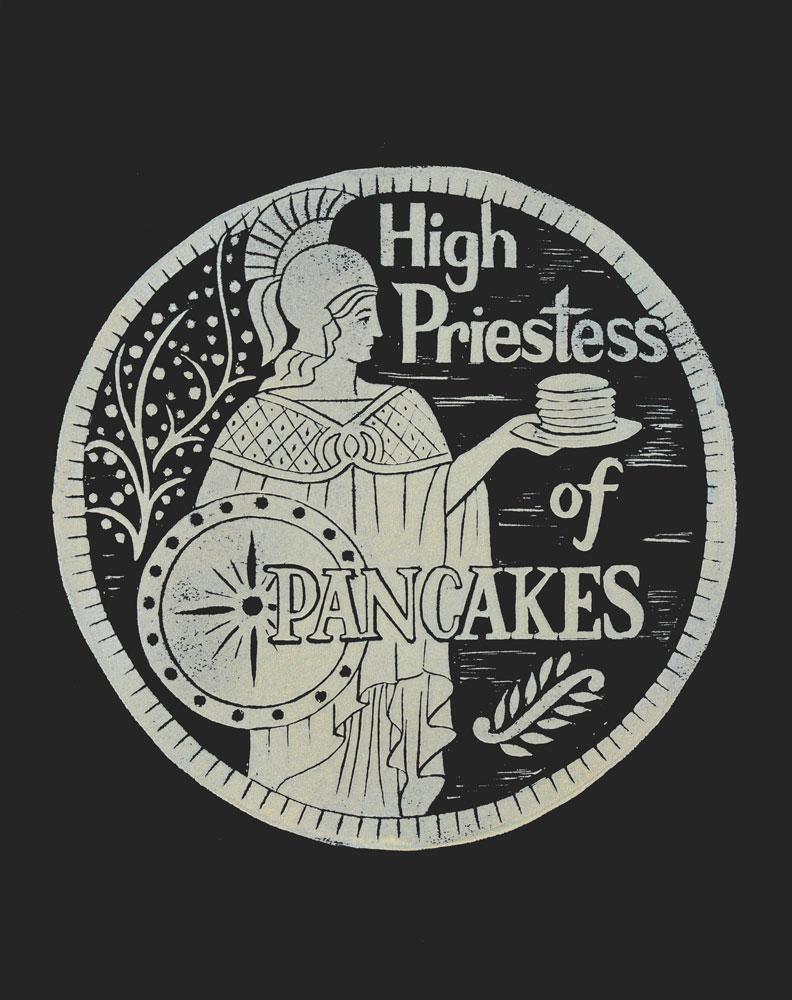High Priestess of Pancakes    #HP11MB