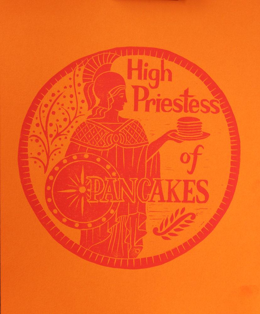 High Priestess of Pancakes  #HP11RO