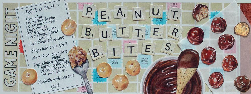 Illustrated Recipe - Peanut Butter Bites
