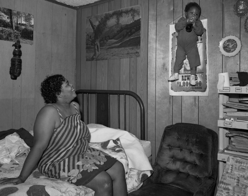 Baldwin Lee, Baby on Wall, Rosedale, MS 1986.