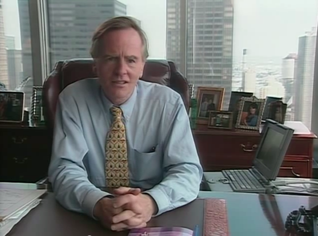 Sculley and his PowerBook 160/165