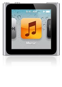 iPod nano 6th gen.