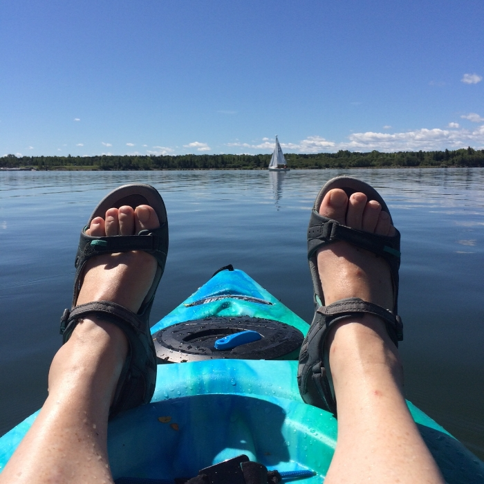 """Buying a kayak this year was a bigger gift to myself than I could have ever imagined."""