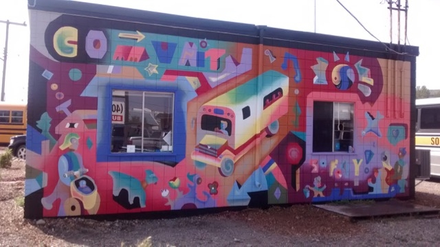 - Southland mural -