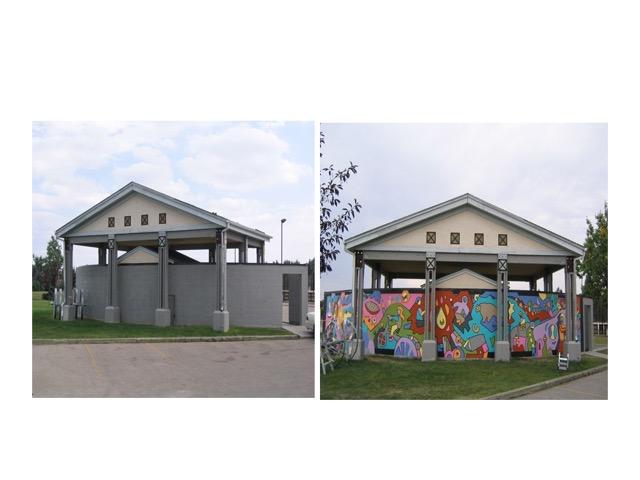 - Beddington Heights community mural -