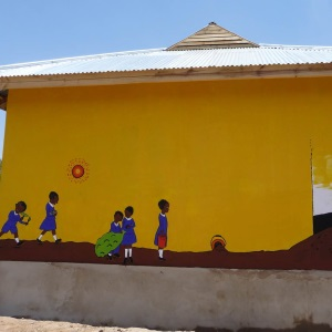 Mural at Ipagala school.