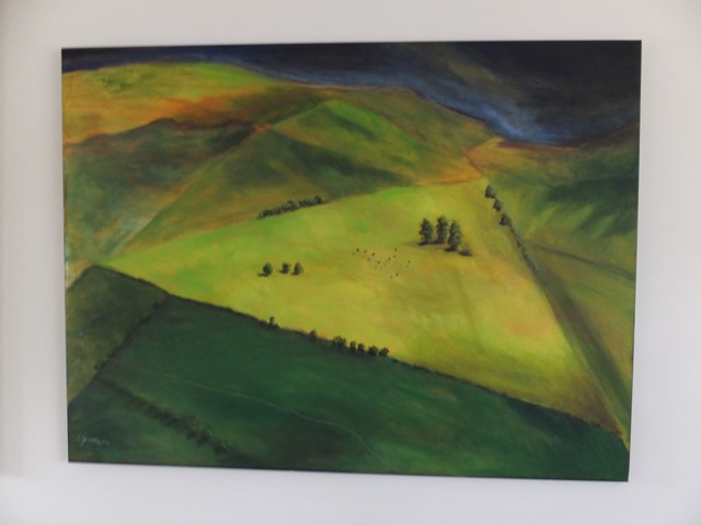 One of Lynn's paintings.