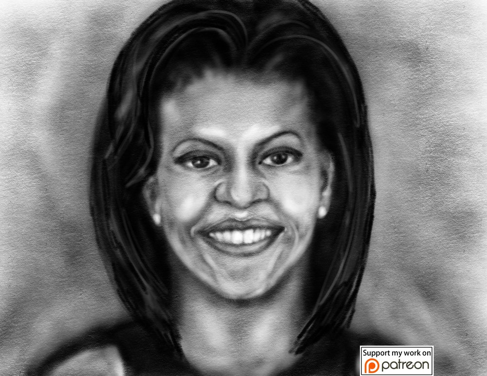 michelle_obama_awesomepeoplebylisa