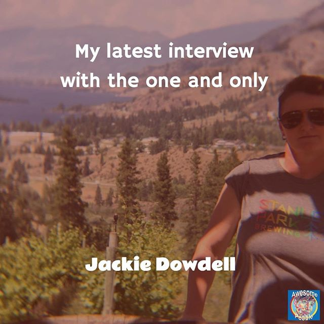 Jackie Dowdell is my next guest. Her interview is live on Youtube! My first video interview and it's amazing! What's so amazing about it? Jackie that's what! She has inspired me for years and i'm so excited to bring this amazing person to Awesome People! Link in the bio. . #whatwouldjackiedo #exploringawesome #interview #youtubeinterview #bethechangeyouwanttobe #bethechangeyouwanttoseeintheworld #loveislove #femalepreneur #creativelifehappylife #dowhatyoulove #positivemood #findyourstrong #womenempoweringwomen #amazingwomen #girlboss