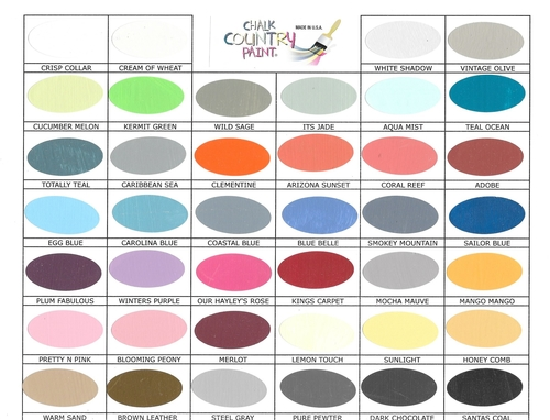 Country Paint Colors chalk country paint — the sewing loft