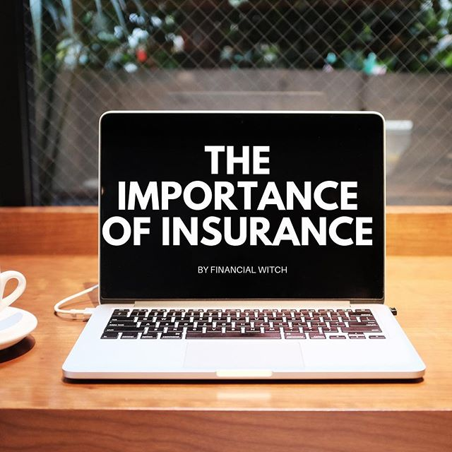 """Insurance is the topic near and dear to me. The conversations about risk management and insurance were one of the things that lead me to start the Financial Witch Project, and I cannot stress enough how important it is to have protection from all kinds of unexpected and unwanted circumstances, as well as different types of losses. My rule of thumb always is, If you can get insurance for something, do it. No exceptions, no excuses.  The problem with insurance is the same as the problem with financial planning and investment advice: the people who need it the most think they cannot afford it (or at least think so). This is a recurring conversation I have with my friends who have small children. """"Now, you have two (or three) people dependant on you. Have you bought life insurance?"""" I ask them.  They reply, """"Of course not! I cannot afford it."""" It breaks my heart because knowing what I know there is no way these people can afford NOT to have insurance. If they cannot afford whole life insurance or think it's too expensive or unnecessary at this point, they should get term insurance for the number of years until their youngest child reaches the age of majority which is usually 18.  These are some difficult conversations to have with friends and clients alike. People are uncomfortable to think and talk about death, especially young parents who have just had their first child or children. As much as we want to live forever, we all know that, unfortunately, it's impossible. We don't know when we die, but it's our responsibility in case this happens sooner rather than later to protect our loved ones and to make sure they are provided for.  Please continue reading in the comments."""