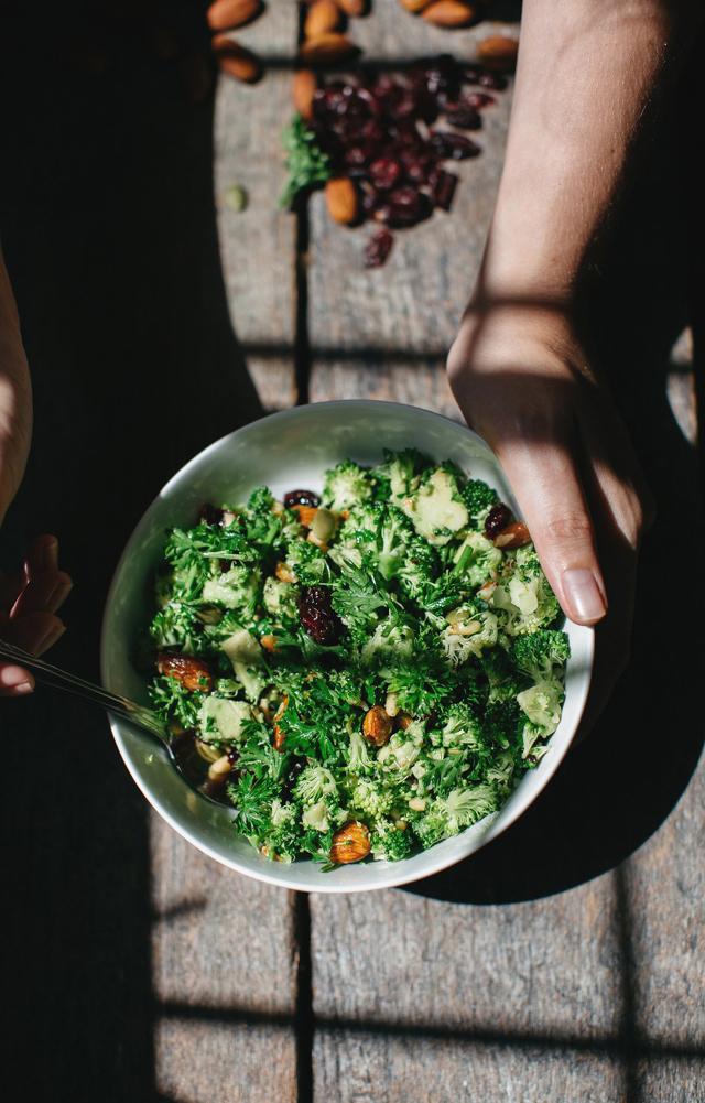 Slowpoke Journal: Raw Broccoli Tabouli