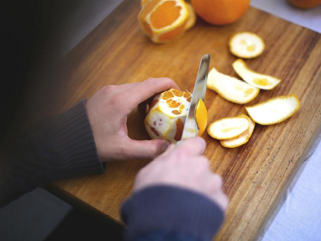 Slowpoke Journal: Candied Orange Peel