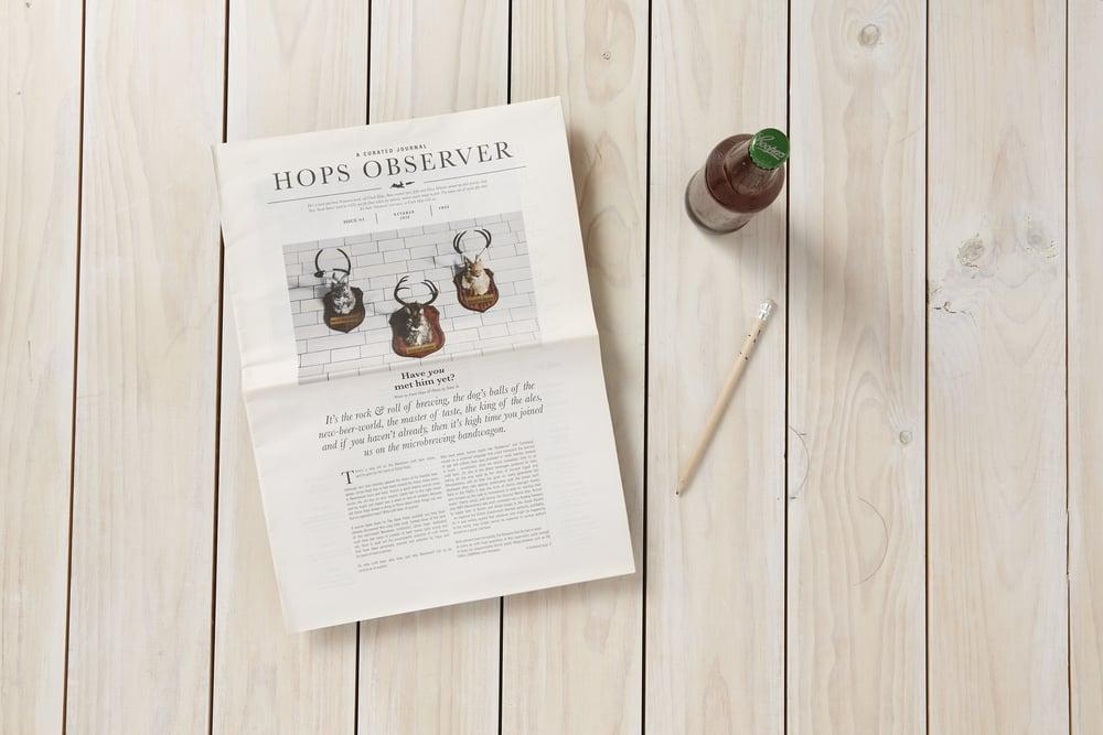 Uncle Hops: Hops Observer Newspaper