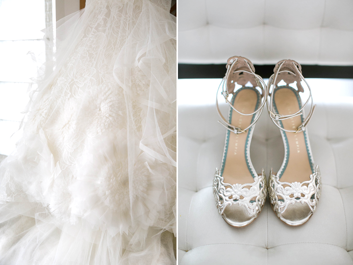 Susanna's dress and shoes were out of control in the most beautiful way.  She was dressed in a Vera Wang gown and stepped out in style with her Charlotte Olympia shoes....now that's my kind of bride!