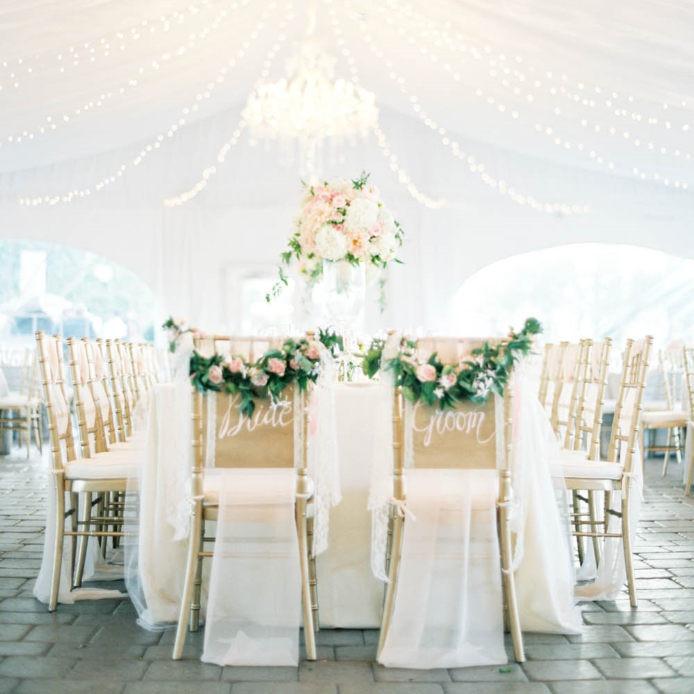 STYLE ME PRETTY | GLAMOROUS TENTED SONOMA WEDDING